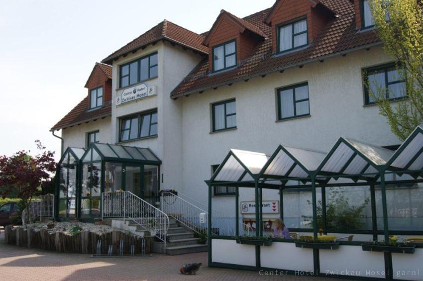 Aussenansicht Center Hotel Zwickau Mosel garni
