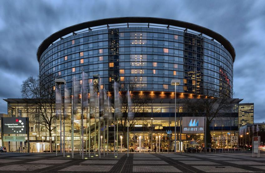 Außenansicht Maritim Hotel Frankfurt