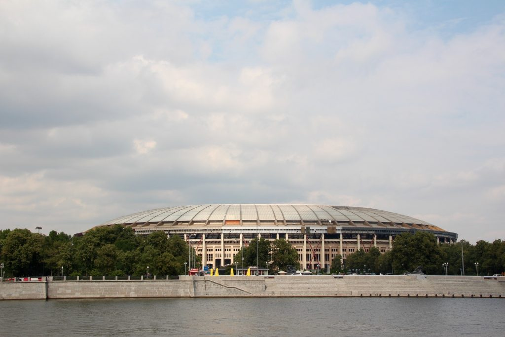 Moscow - venue for the soccer world championship 2018